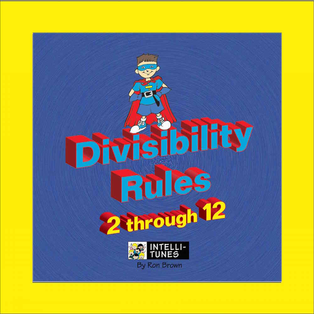 hight resolution of Intelli-Tunes: Divisibility Rules 2-12 CD
