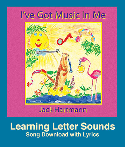 Learning Letter Sounds Song Download with Lyrics: Songs for Teaching® Educational Children's Music