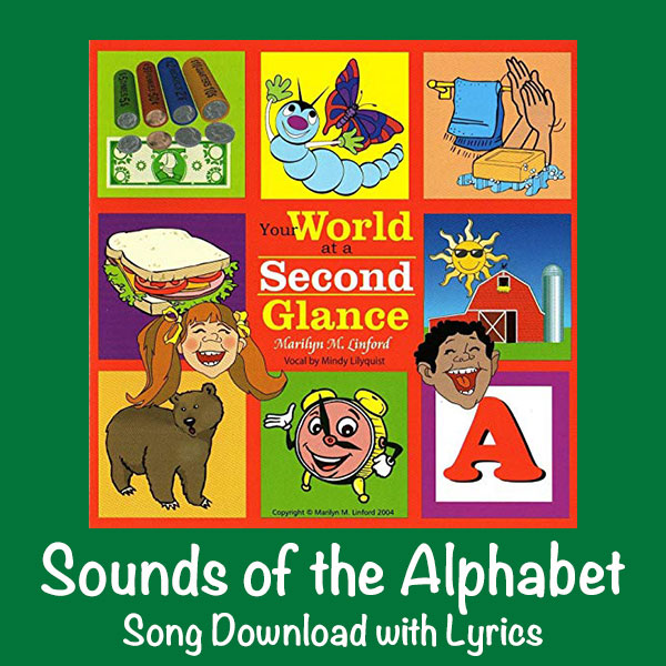 Sounds of the Alphabet Song Download with Lyrics: Songs for Teaching® Educational Children's Music