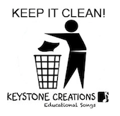 Keep It Clean! Song Download with Lyrics & Lesson