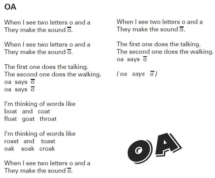 OA: Song Lyrics and Sound Clip