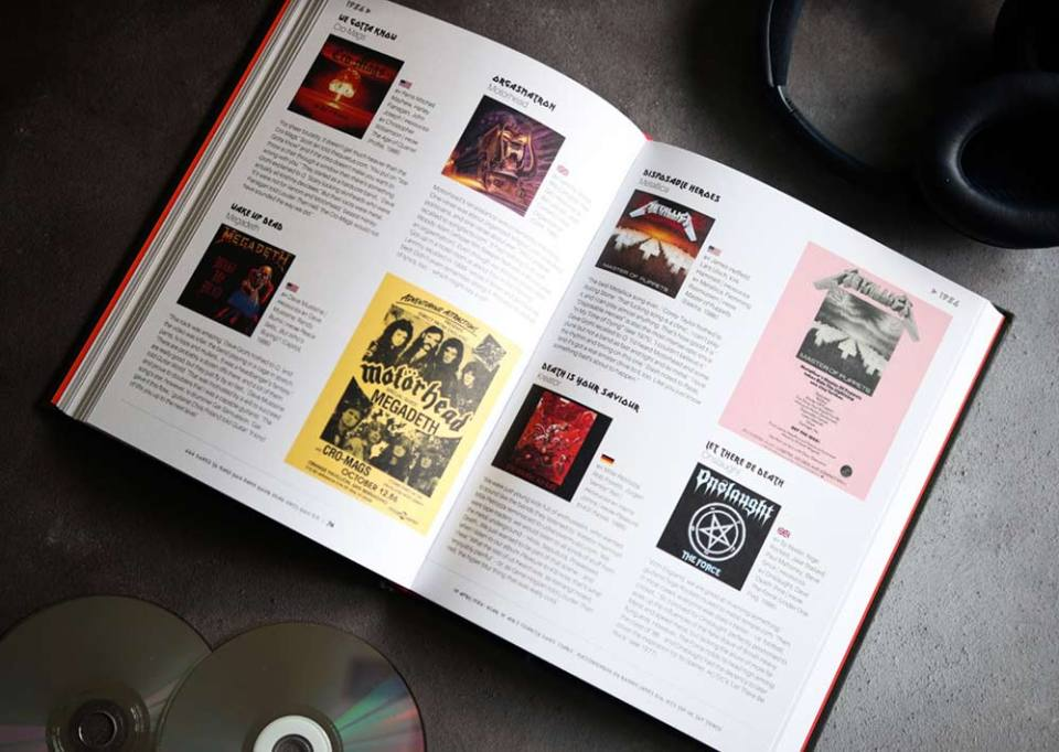 '666 Songs To Make You Bang Your Head Until You Die' book