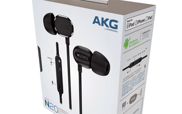 AKG N20U In-Ear Headphones