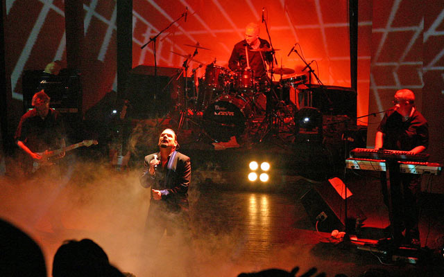 Alphaville performing live in 2005