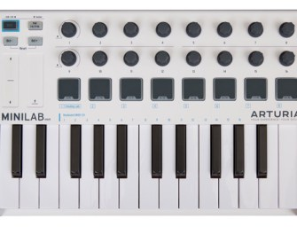 Arturia announces second gen MiniLab