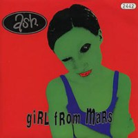Ash 'Girl From Mars' single cover