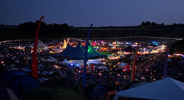Boomtown festival 2012