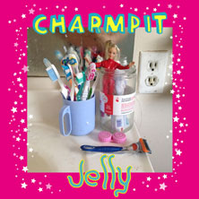 Charmpit 'Jelly' EP artwork