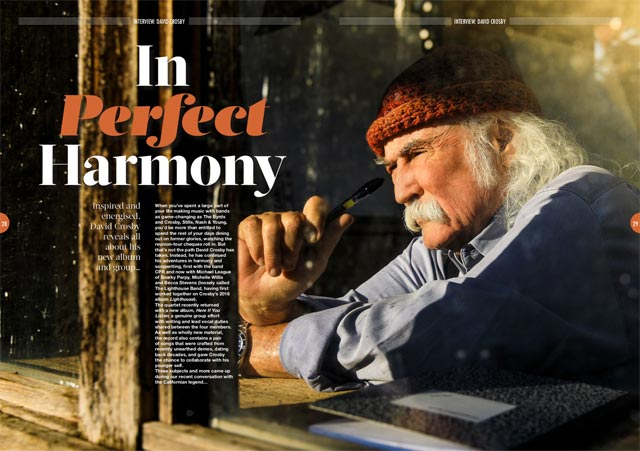 David Crosby in Songwriting Magazine