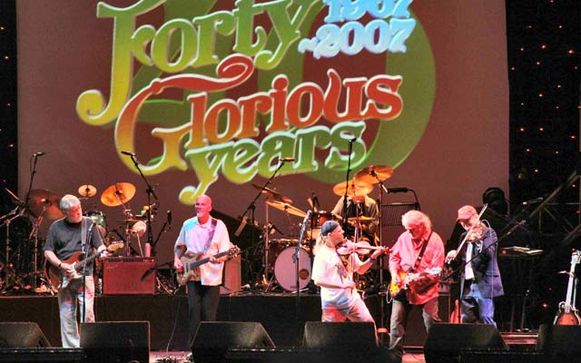 Fairport Convention's 40th anniversary reunion