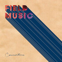 Field Music 'Commontime' album cover