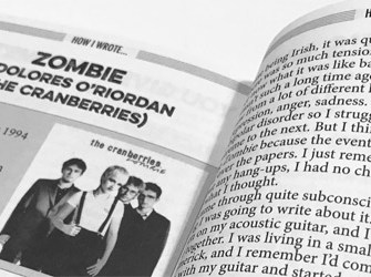 How I wrote 'Zombie' by The Cranberries' Dolores O'Riordan