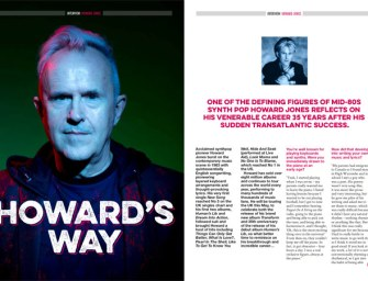 Interview: Howard Jones