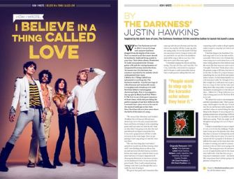 How I wrote 'I Believe In A Thing Called Love' by The Darkness' Justin Hawkins