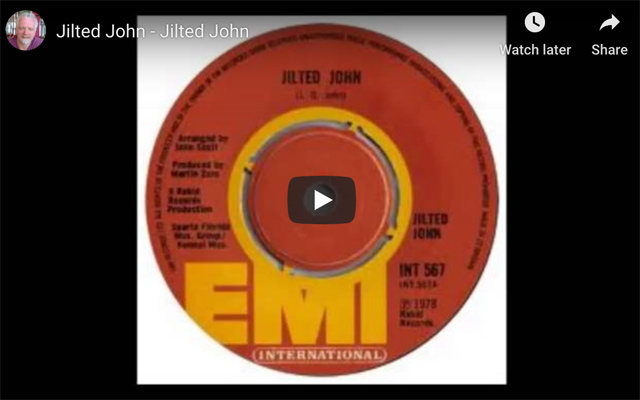 Jilted John by Jilted John on YouTube