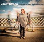 Lowri Evans 'Everyone Is From Somewhere Else' cover