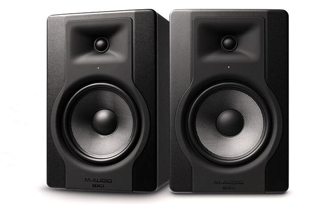 M-Audio BX8D3 monitor speakers