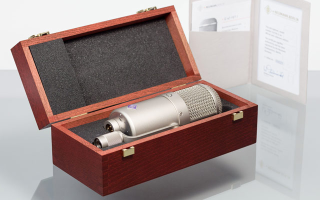 Neumann Collectors Edition U 47 fet microphone