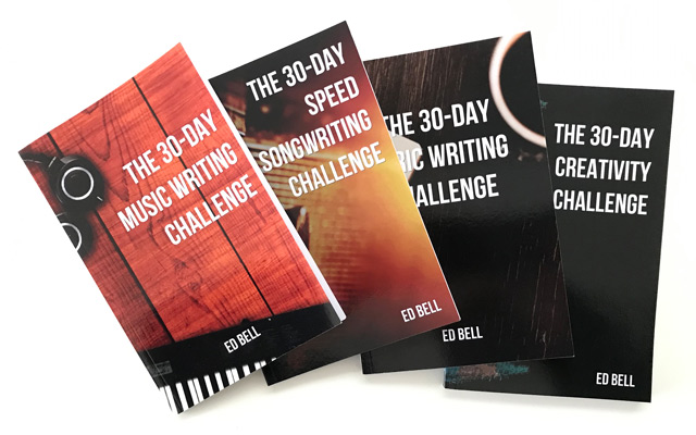 Song Foundry 30-day Creativity Challenge books