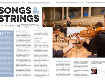 Songs & Strings: Patrick Hamilton's tips for arranging and orchestration