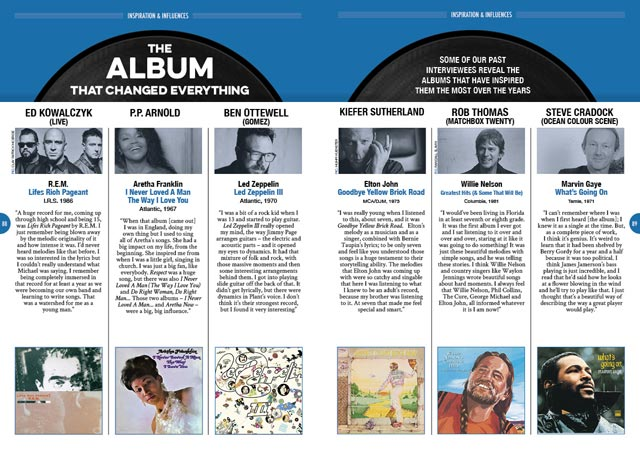 The Album That Changed Everything feature in Songwriting Magazine Summer 2019