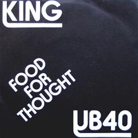 UB40 Food For Thought cover