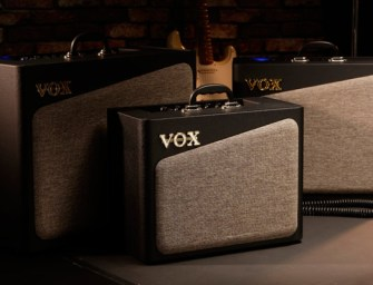 VOX launches AV Series amps