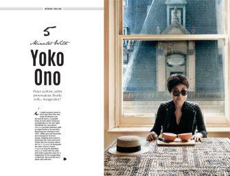 5 minutes with… Yoko Ono