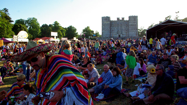 Camp Bestival Castle Stage
