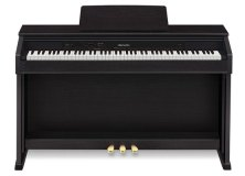 Casio's new Celviano AP-460 is an 88-key, cabinet digital piano with bench, available in black or brown