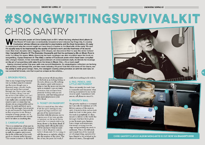 Chris Gantry's Songwriting Survival Kit