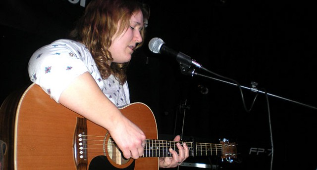 Emily Teague at Songwriting Live, Bristol