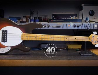 Ernie Ball announces 40th anniversary StingRay