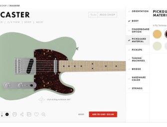 Fender introduces new Mod Shop