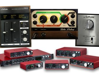 Softube and Focusrite offer interface owners 'time and tone'