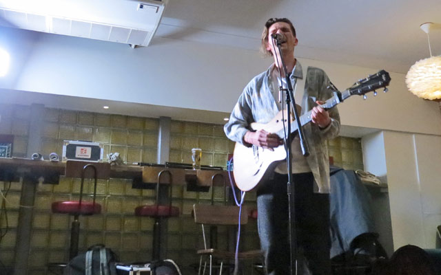 Jasper Storey at Funnel Music Songwriting Live