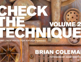 Book review: 'Check The Technique Volume 2' by Brian Coleman