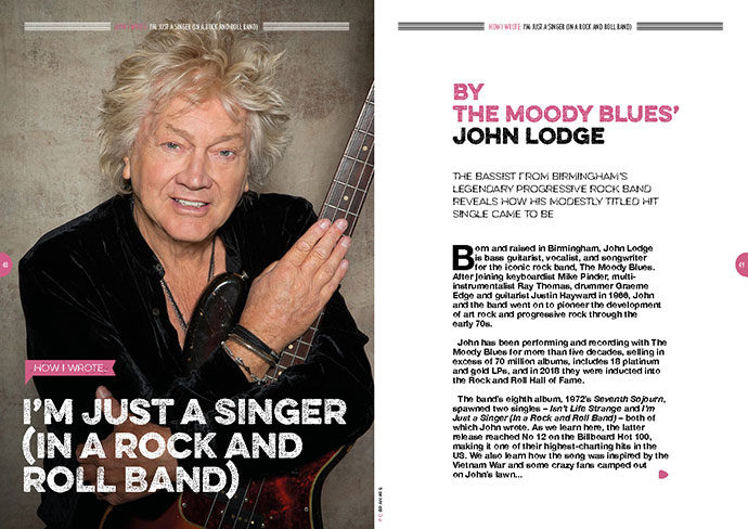 How I wrote 'I'm Just a Singer (In a Rock and Roll Band)' in Songwriting Magazine