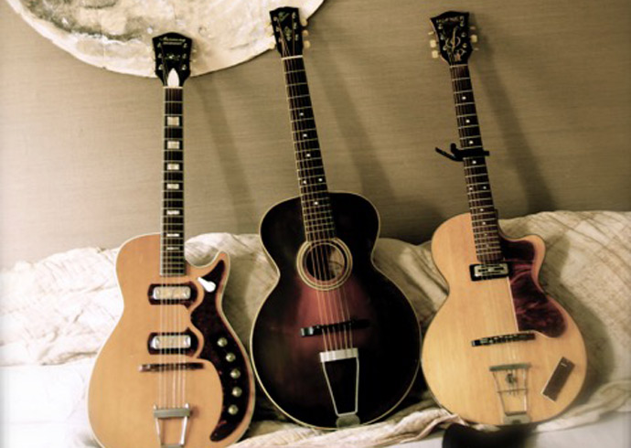 Katherine Blamire's guitars
