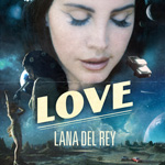 Lana Del Rey 'Love' single artwork
