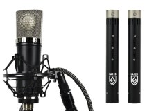 Lauten Audio Series Black microphones