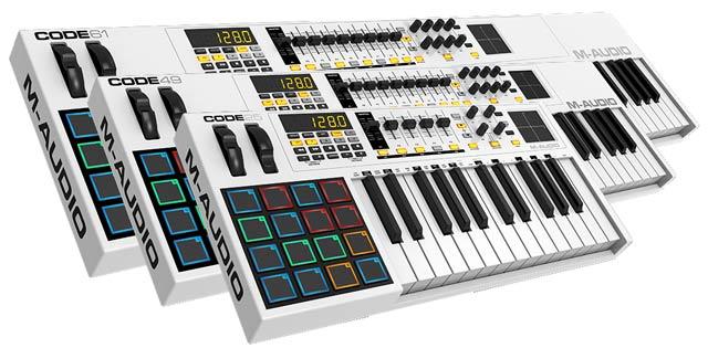M-Audio Code Series keyboards