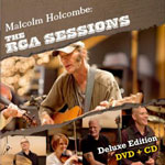 The RCA Sessions by Malcolm Holcombe (Album+DVD)