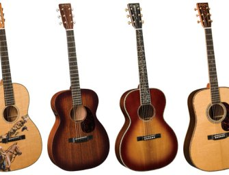 Martin Guitar to present four new models