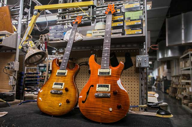 PRS Guitars SE models