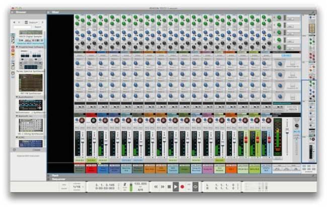 Reason 8 mixer