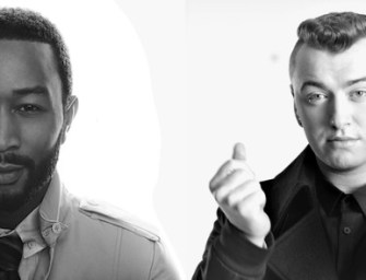 Sam Smith and John Legend record official Red Nose Day single