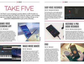 Take Five: Voice Recorder Apps