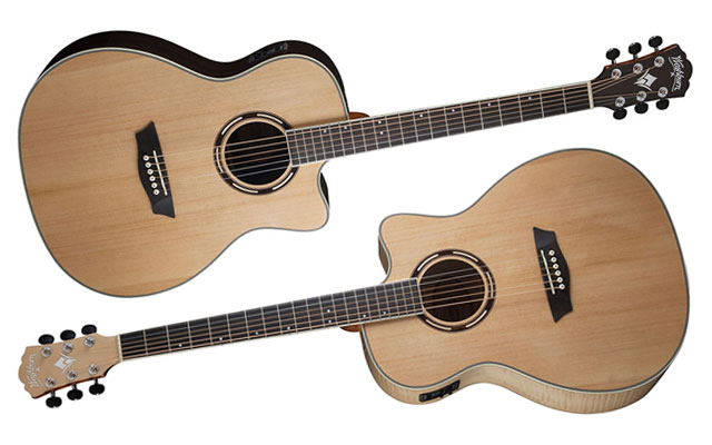 Washburn Apprentice Series acoustic guitars