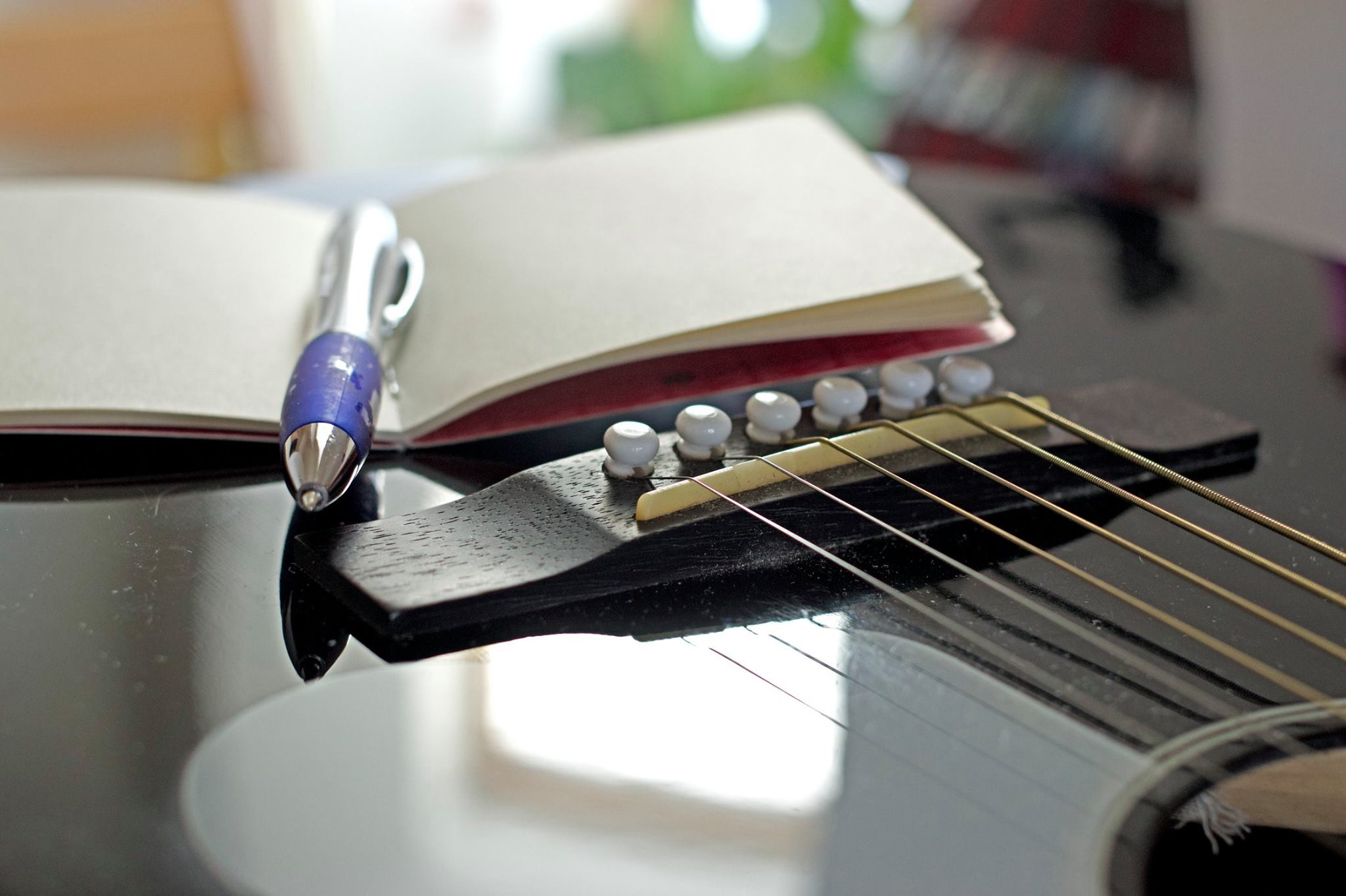 Songwriting as therapy